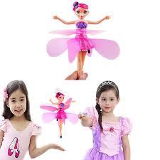 <b>Mini RC Drone</b> Fairy Magical Princess Dolls Infrared Light ...