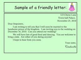 Friendly Letter Sample For Elementary Filename Portsmou Thnowand Then
