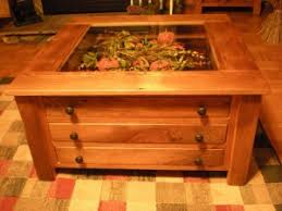 Wonderful Coffee Table:Coffee Table With Glass Display Case Display Case Coffee Table  As Round For Great Pictures