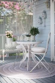 shabby chic patio furniture. French-styled Shabby Wooden Dining Set Chic Patio Furniture