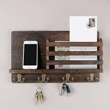 wall office organizer key holder hooks