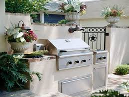 outdoor kitchen small space designs