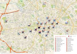 berlin printable tourist map  sygic travel