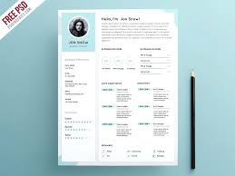 Clean Resume Template Metabots Co