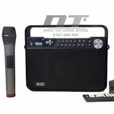 BOXT Q7 - Loa cao cấp âm thanh cực hay - Loa karaoke mini xách tay - loa  bluetooth mini kèm 1 micro không dây