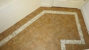 Unique Floor Tile Borders Tierra Sol Island Pebbles Timor White Level Pebble Throughout Innovation Design