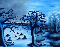 monochromatic artworks