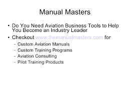 flight instructor human behavior lesson