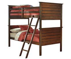 Ladiville B567 Twin over Twin Size Bunk Bed