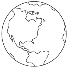 Small Picture Earth Coloring Page Dr Odd