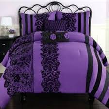 black twin bedding purple and black comforter i need this bed set for my bed black
