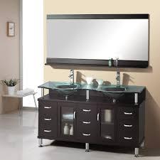 Standard Bathroom Vanity Top Sizes Bathroom Wooden Narrow Depth Bathroom Vanity With Black