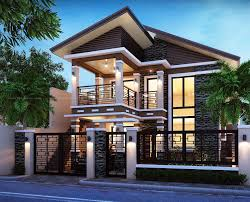 Are you planning to build or reconstruct your own house? Check of these  beautiful 2 storey house designs and you might get some ideas