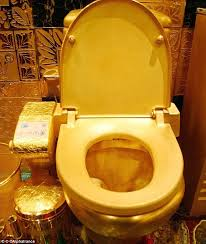 gold flake toilet paper. the world\u0027s most expensive loo, £3 million hang fung gold toilet flake paper t