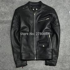 Us 200 0 Gu Seemio Factory Genuine Leather Jacket For Men Short Motorcycle Sheep Skin Male Coat Outwear Short Real Leather For Boy In Genuine