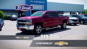 Huge Discounts On New Chevys At El Dorado Chevrolet Youtube