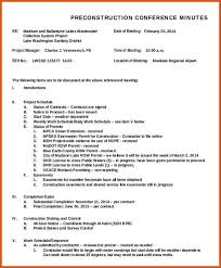 Meeting Notes Sample Template Business