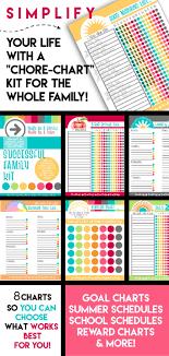 Successful Family Chore Chart Printable Reward Chart