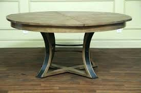 diy round pedestal table base how to build a end dining plans free double ba