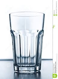 empty modern drinking glass stock photo  image