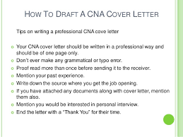 Sample Cover Letter For Cna With No Previous Experience Books On