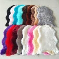 artificial sheepskin gy faux fur carpet area rug bedroom home decorative white wine red brown black pink grey coffee blue carpet carpet artificial