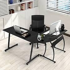 computer office table. GreenForest L-Shape Corner Computer Office Desk PC Laptop Table Workstation Home 3-