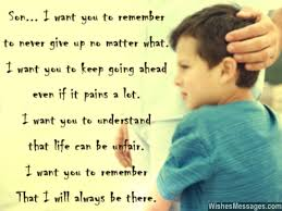 Father Son Love Quotes Beauteous I Love You Messages For Son Quotes WishesMessages