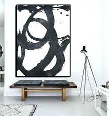 large abstract wall art canvas black and white abstract wall art extra large abstract painting on