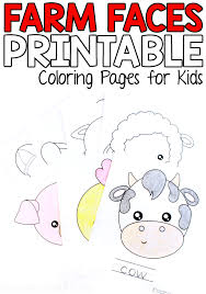 We have hundreds of kids craft ideas, kids worksheets, printable activities for kids and more. Farm Animal Coloring Pages For Kids From Abcs To Acts