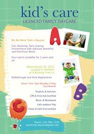 Childcare Flyers Child Care Advertisement Flyer Advertisment Flyers Creative Flyers