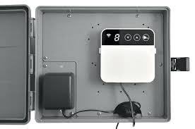 outdoor timer box post outdoor waterproof dimmer switch