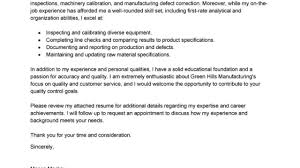 Leading Professional Quality Assurance Cover Letter Examples