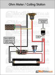 16 best box mod schematy diy images on pinterest Economy 7 Meter Wiring Diagram ohm meter coiling station wiring diagram Residential Electrical Meter Wiring Diagram
