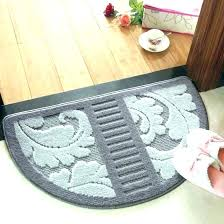 semi circle rugs half semicircle fresh kitchen area small round ikea adelaide crocheted rug h