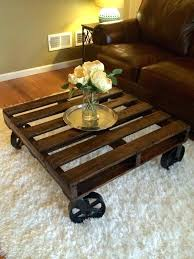 E Pallet Coffee Table With Wheels Furniture Plans Bench Etsy Reclaimed For  Sale