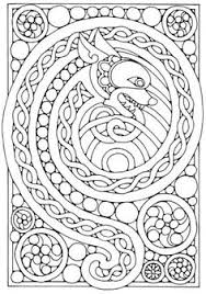 Small Picture printable celtic knot coloring pages