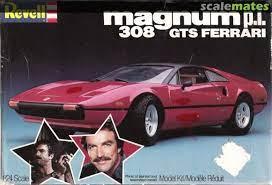 Magnum P I 308 Gts Ferrari Revell 7378 1982