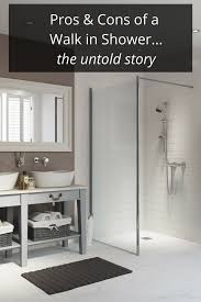 Doorless Shower Design Pictures Pros And Cons Of A Walk In Shower Design Cleveland