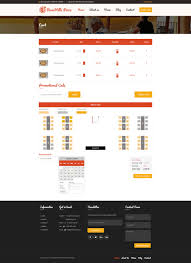 Table Reservation Template Pizza Restaurant Table Booking Html Template