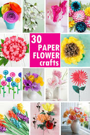 Flower Paper Craft 30 Of The Best Paper Flower Tutorials The Decorated Cookie