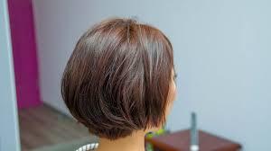 ロングからショートボブへバッサリ切って理想のフェミニンな髪型にっ
