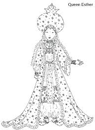 Queen Esther Coloring Page Queen Coloring Page Pages Also Print King