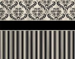cream and black shower curtain. custom damask \u0026 stripe designer shower curtain - your choice any color available shown black cream and