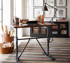 office desk standing. Pittsburgh Crank Standing Desk Pottery Barn With Adjustable For Home Office Idea 15