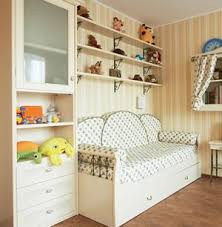 Great Kids Bedroom With Shelving