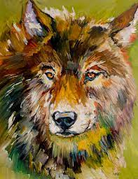 Leader of the Pack Painting by Diane Whitehead