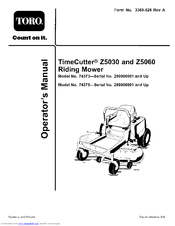 toro timecutter z5060 manuals manuals and user guides for toro timecutter z5060 we have 2 toro timecutter z5060 manuals available for pdf operator s manual