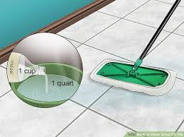 image titled clean grout off tile step 3