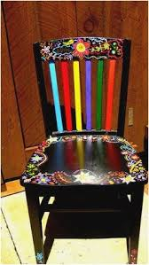 funky furniture ideas. Funky Chairs In 2018 Handpainted Chair By Alice Hinther \u0026 Sofas New Furniture Ideas